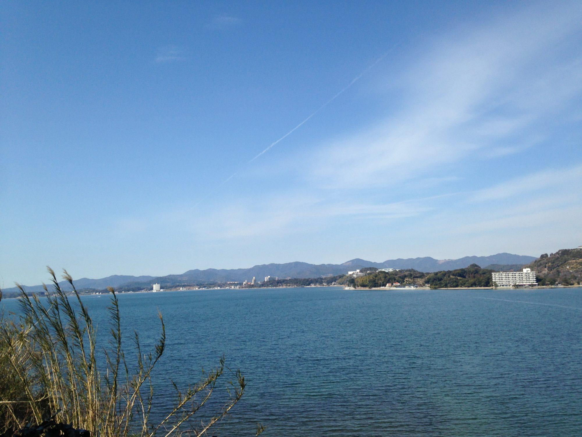 浜名湖午前中